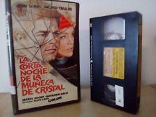 La corta noche de la muneca de cristal (La corta notte delle bambole) GIALLO VHS
