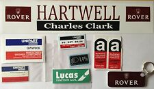 Rover MGRover Replica Owners Pack - Engine Stickers, Dealer Sticker + Key Fob