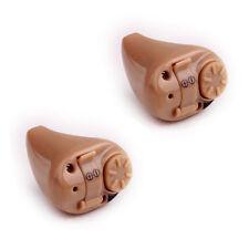 2x Best Mini Digital Hearing Aid ITE Adjustable Sound Amplifier K-82 Ear Aids
