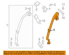 FORD OEM Rear Seat Belt-Center Middle HG9Z54611B64AD