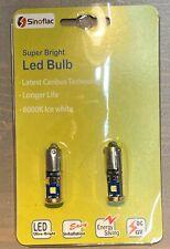 H21 Led Bulb Canbus BAY9S Error Free Set Of 2 Pcs