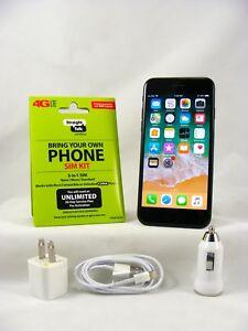 Apple iPhone 7-256GB Black(Straight Talk/Verizon 4G LTE Activation Nano SIM card