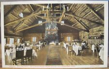 Yellowstone National Park OLD FAITHFUL INN Dining Room FJ HAYNES Photo St Paul