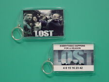 LOST - TV Series - Show - with 2 Photos - Collectible GIFT Keychain 01