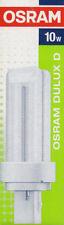 Osram Dulux D 10W 827 2 Pin G24d-1 Fluorescent Lamp | Warm White