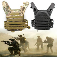 Tactical Plate Carrier JPC Vest Military Airsoft Chest Rig Paintball 600D Nylon