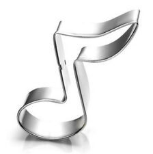 Music Cutter Cookie Frame Cake Stainless Steel Mold Party DIY Home Gift ☆