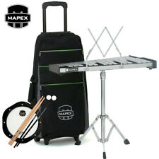 New Mapex Mpk32Pc Percussion Kit w/ Intergrated Roller Bag, Sticks and Mallets