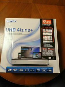Humax UHD 4tune+ HD-SAT-Receiver, 1000 GB FP eingebaut, OVP
