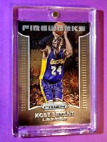 Kobe Bryant PANINI PRIZM FIREWORKS SPECIAL INSERT HOT LAKERS CARD - Mint!