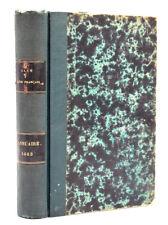 ANNUAIRE DU CLUB ALPIN FRANCAIS - n° 10, 1883. Revue La Montagne