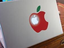 BIG RED APPLE decal for MACbook(s) - vinyl - sticker