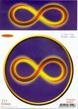 """Infinity"" Static Cling Window Sticker"