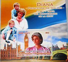 MADAGASKAR MADAGASCAR 2012 unlisted Princes Diana Spencer Memorial issue MNH