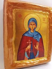 Saint Methodia Icon Religious Art