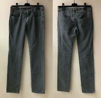 MIU MIU Jeans Hose Grau Gr. 26 Damen Denim Stretch Iconic Grey Pants