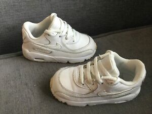 GREAT CONDITION KIDS UNISEX NIKE AIR MAX TRAINERS SIZE INFANT 6.5