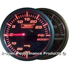 MOTORE passo-passo 45 mm Small Turbo Boost Gauge PSI per SUBARU IMPREZA MITSUBISHI EVO