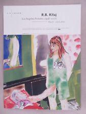 R.B. Kitaj Art Gallery Exhibit PRINT AD - 2003