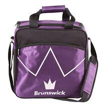 Brunswick Blitz Black/Purple 1 Ball Bowling Bag