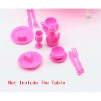 12X-Mädchen-Geburtstags-Geschenk-Tisch,die für Puppenzubehör Geschenk-Spielzeug^