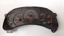 2006-2007 Chevy Silverado Sierra Speedometer Gauge Cluster 15105668 Trans Temp