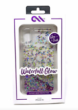 CaseMate Waterfall Case for iPhone XR  PURPLE Glow in the Dark