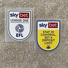 Crewe Alexandra EFL Sky Bet League One 2020/21 Player Size Shirt Sleeve Patches