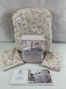 Simply Shabby Chic Queen Comforter Set Sheets Dutchess Rose 7 Pc Rachel Ashwell