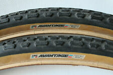 "used IRC AVANTAGE 700x38C tyres retro 28"" skinwall made in japan BB9"