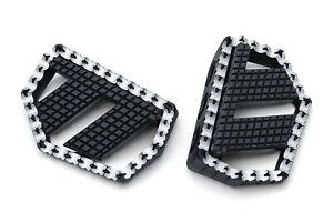 Kuryakyn Riot X Mini Floorboards Foot Boards Pegs Harley Softail Touring Dyna XL