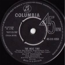 "7"" 45RPM The Next Time/Bachelor Boy by Cliff Richard & The Shadows from Columbia"