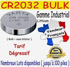 Lot piles boutons CR2032 VARTA Lithium 3V - Disponibles aussi : CR2016 ou CR2025