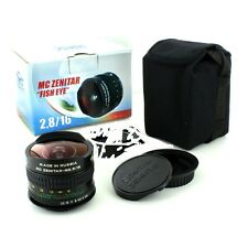 FishEye Zenitar M /2.8/16mm Sony NEX, Sony E full frame NEW Box usa warranty