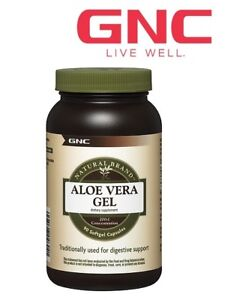 GNC Natural Brand Aloe Vera Extract Softgel 90 capsules