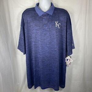 Majestic Baltimore Orioles Mens 6XL Big & Tall Short Sleeve Polo Shirt NWT