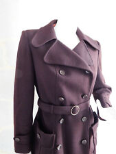 Manteau Vintage 70 Marron en Laine - Vintage 70 Brown Wool Coat