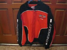 NASCAR RACING CHEVY Chevrolet Size XL Men Red Jacket Coat