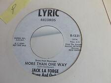 JACK LA FORGE More than one way / Oh! George R 1331