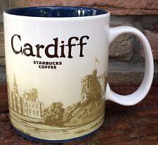 Starbucks Global Icon City Mug Cardiff England 16oz/473ml New with SKU