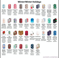Jamberry Nail Wraps Winter Holiday Half Sheets