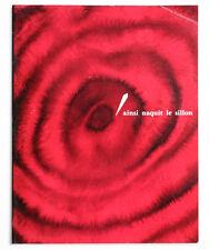 AINSI NAQUIT LE SILLON Pathe Marconi PROMO french 1960 record plant livre book
