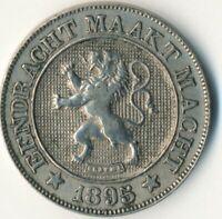 COIN / BELGIUM / 10 CENTIMES 1895   #WT7763