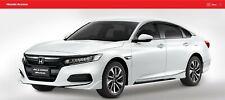 2018-20 JDM Accord 4D Sedan Front & Rear Under Skirt Body Spoiler Genuine Honda