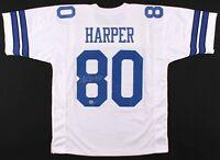 Dallas Cowboy Alvin Harper Signed Jersey W/Coa Players