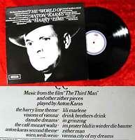 LP Anton Karas: The World of Anton Karas & Harry Lime (Decca SPA 118) UK 1971