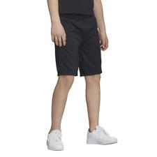 Adidas Boy's Shorts Athletic school Casual Fashion Training Sports Black DV2923