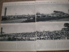 Photo article London end of land mark burn out Crystal Palace 1936 ref AZ