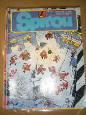 Spirou N° 2332 1982 BD Sybilline Nic Ginger Les schtroumpfs Archie Cash Valhardi