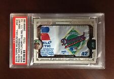 2015 Topps Museum Collection Rickey Henderson LOGOMAN Patch Tag 1/1 PSA 10 #RHE